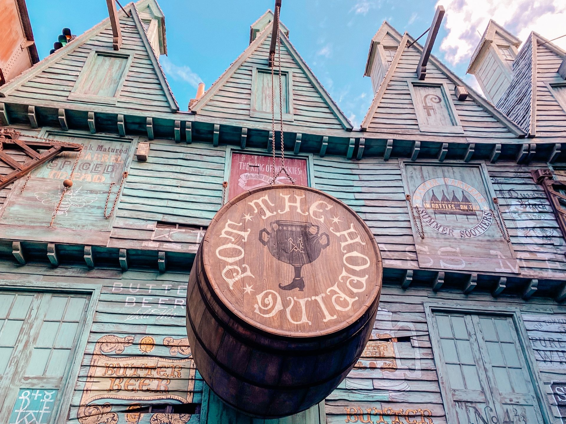 one spot where you can purchase butter beer at the wizarding world of harry potter at universal studios orlando florida