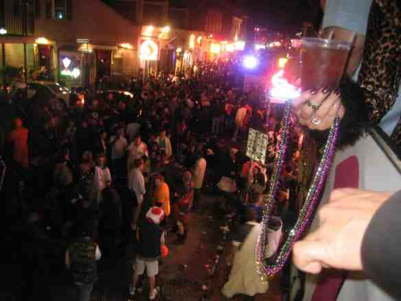You could earn a ticket to party on New Orleans' famed Bourbon Street. travel reward cards