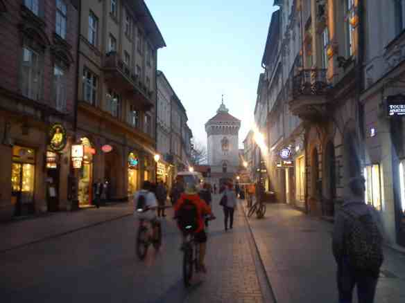 Florianska St. and St. Florian's Gate, Tips on Areas to Stay in Krakow