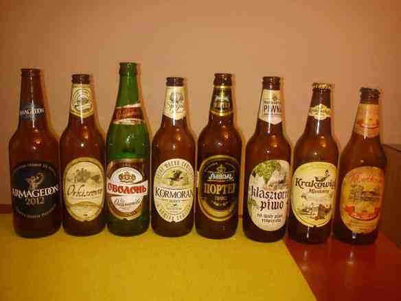 Polish and Ukrainian micro brews, Tips on Areas to Stay in Krakow