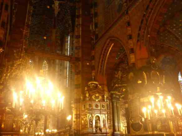 Inside St. Mary's Cathedral, things to do in Krakow