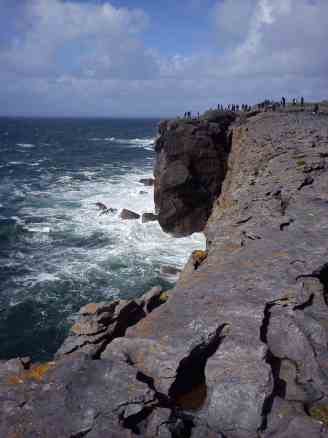 west coast of Ireland, Cliffs of Moher by rental car from Dublin