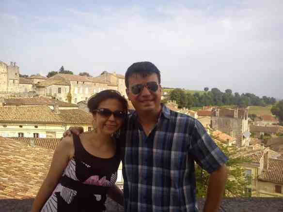Saint Emilion, France in summer 2013