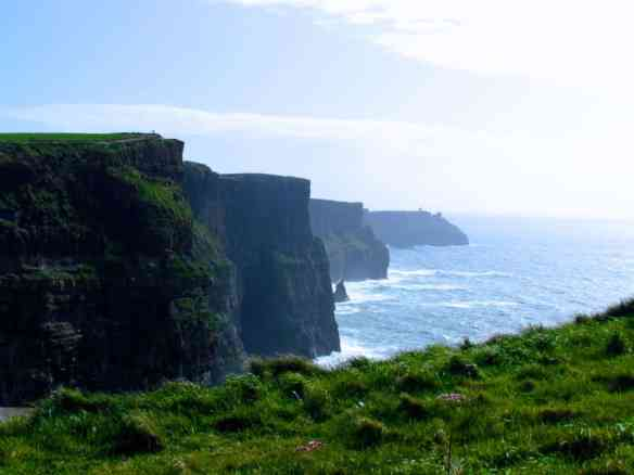 Cliffs of Moher by rental car from Dublin