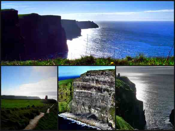 touring the west coast of Ireland - Cliffs of Moher