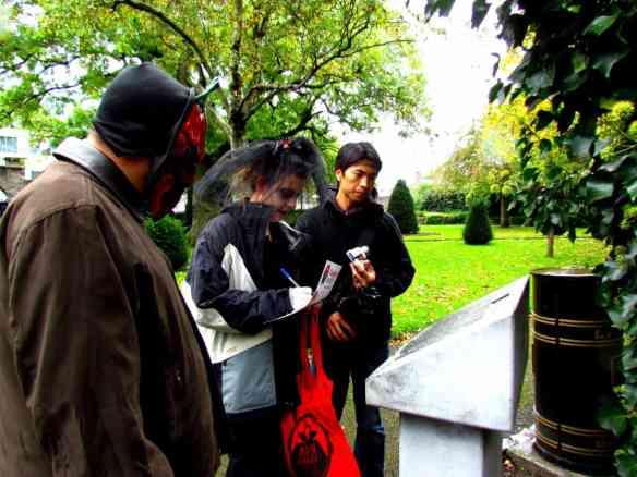 Vampire Hunt, St Kevin's park