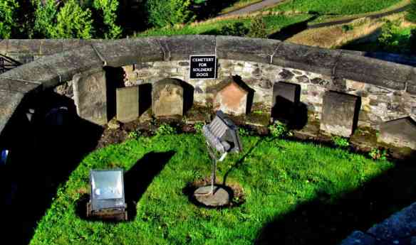 Dog cemetery - Edinburgh Castle