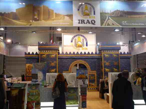 Iraq Tourism Board at World Travel Market in London