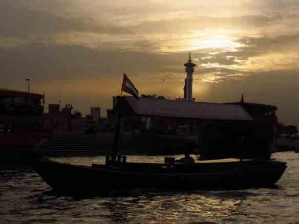 Dubai - from a river taxi