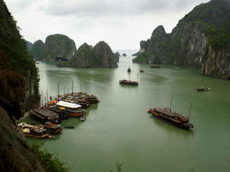 Ha Long Bay, one reason we loved vietnam