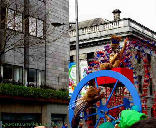 If someone knows what this float was about could you please tell us!! A small prize will be issued!