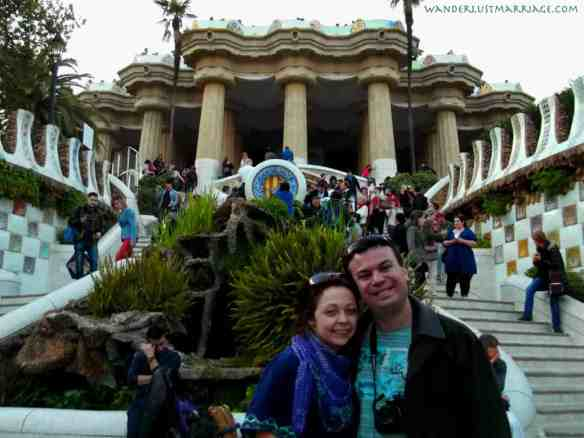 Alex and Bell at Parc Guell