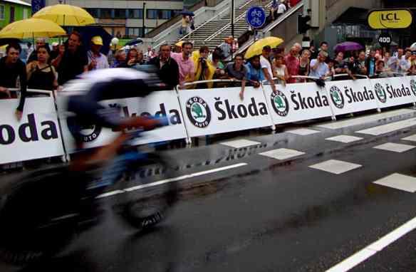 Tour de France cyclist