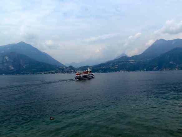 Lake Como ferry boat