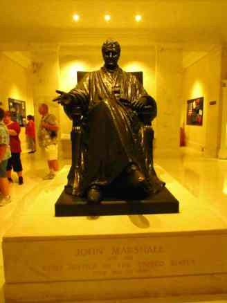Supreme Court- John Marshall Statue