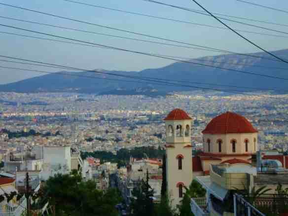 Athens from Aega Barbara