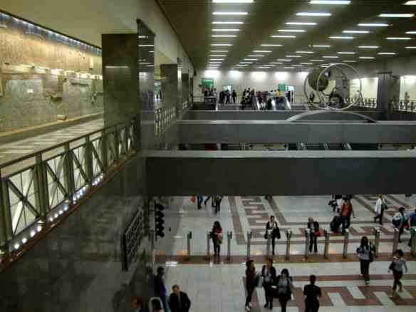 Even some of Athens modern subway stations double as museums, with antiquities showcased behind glass.