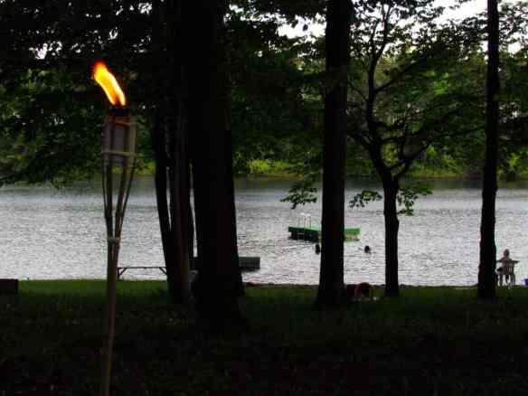 Tiki Torch in Darien Lake