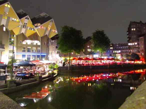 Rotterdam's Oude Haven Waterside Restaurants