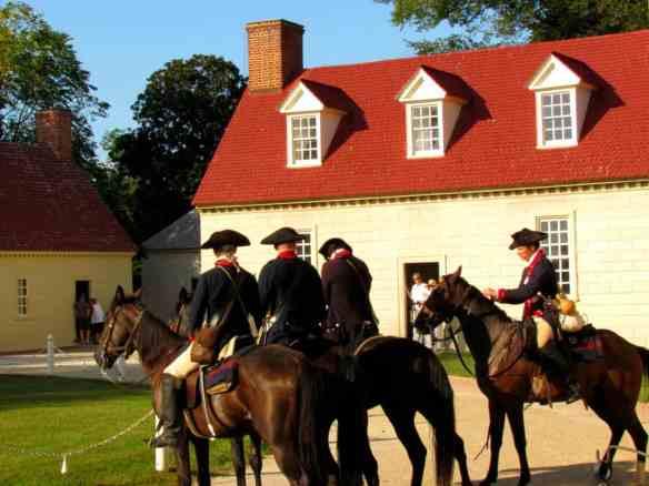 Mount Vernon- Colonial Horses
