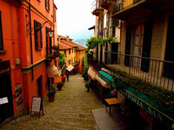 Bellagio is touristy, but you'll still come across lovely alleys that are quiet and peaceful.