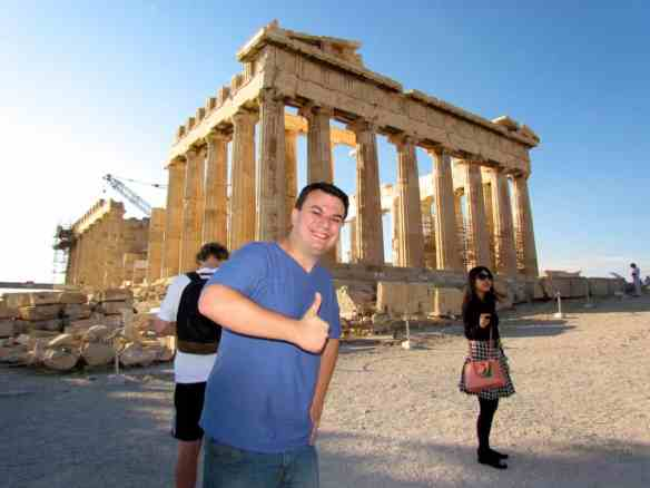 Thumbs up Parthenon