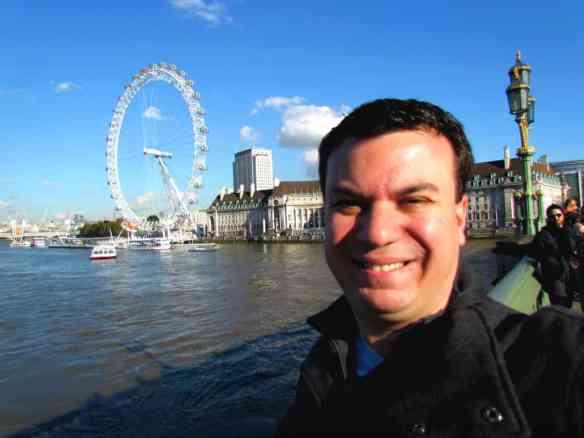 London Eye- Selfie