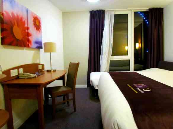 Premier Inn Room with desk