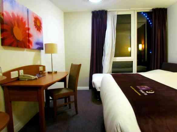 Premier Inn Room with desk