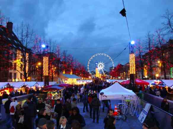 Christmas Market in Brussels