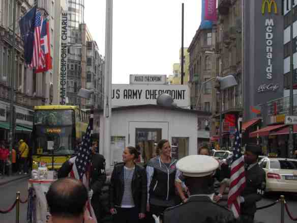 If you must visit Checkpoint Charlie you can look forward to this. The McDonald's is a nice addition to the chaos.