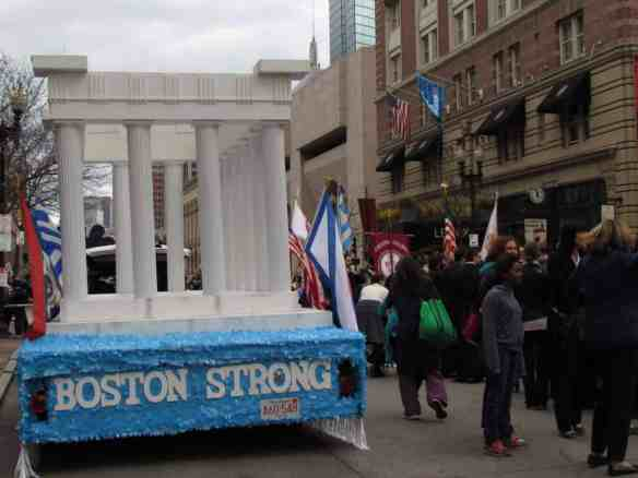Boston Strong float, 2015 Greek Independence Day Parade