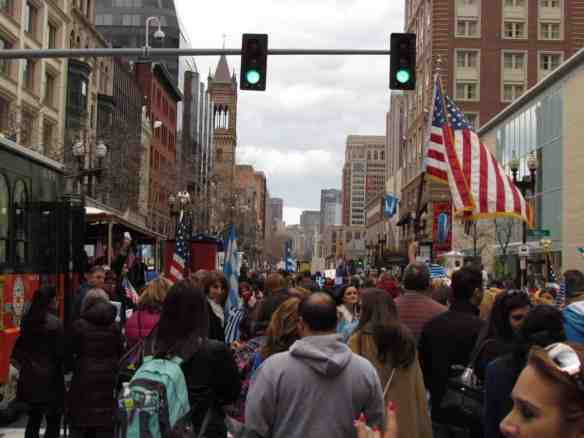 Greek Parade in Copley Square