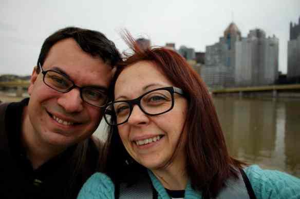 Selfie in Pittsburgh