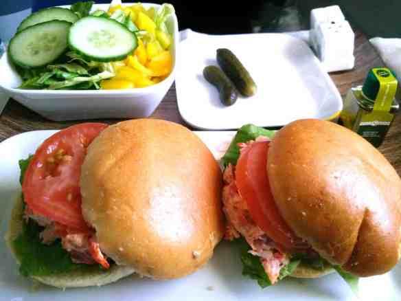 Delta elite lobster rolls lunch