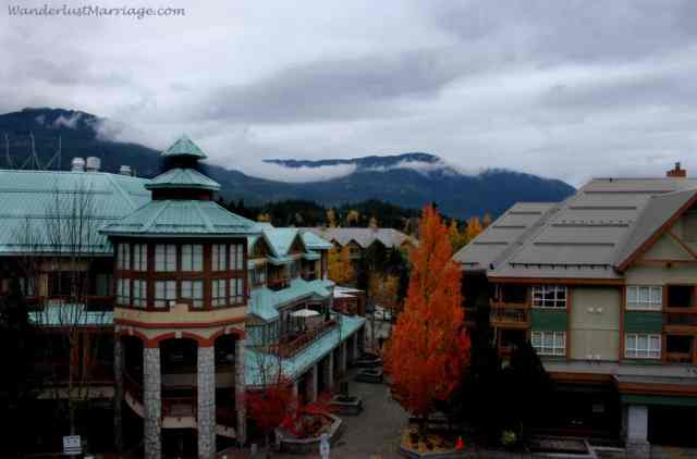 Whistler hotel view