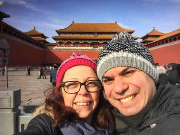Alex & Bell, Forbidden City, China
