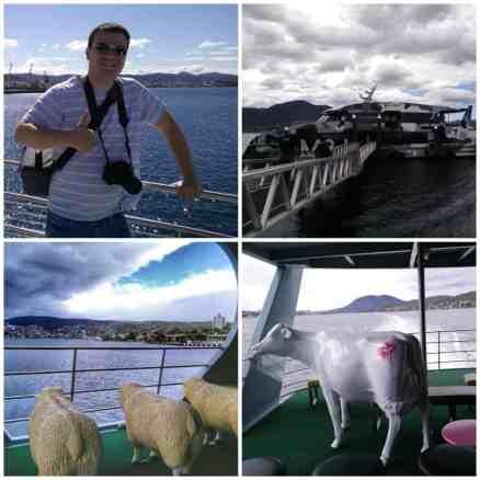 MONA ferry, Hobart, Tasmania