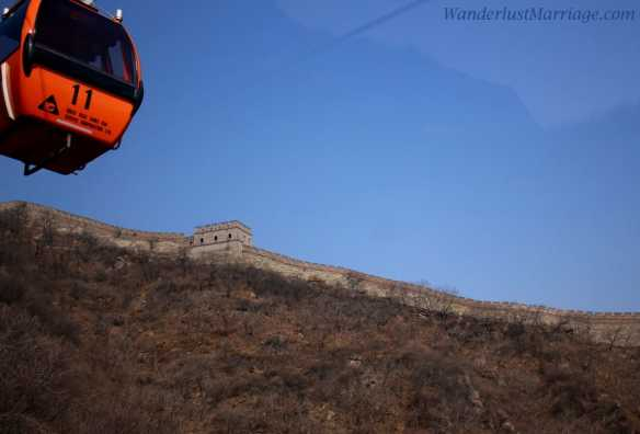 Cable car ride Mutianyu, Tips on Visiting the Great Wall of China