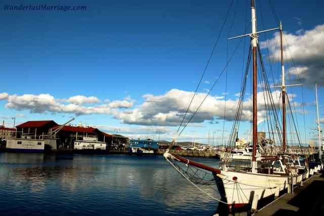Tassie - boats