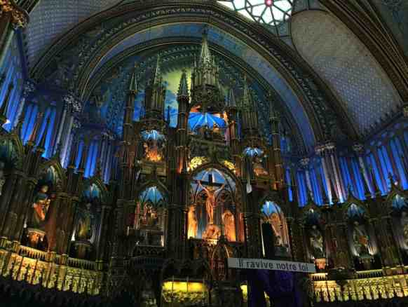 Notre Dame Basilica Montreal, tips for visiting Montreal