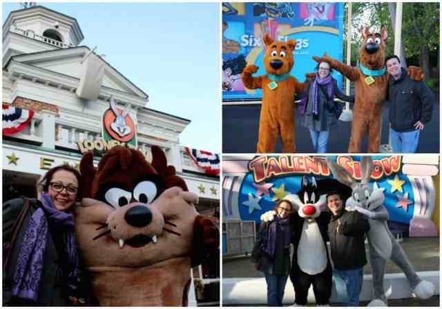 Characters at Six Flags