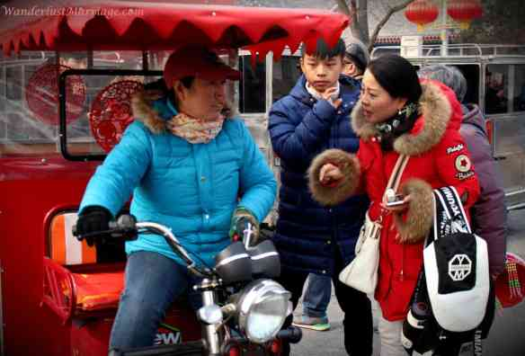 Chinese TukTuk negotiation, People of Beijing