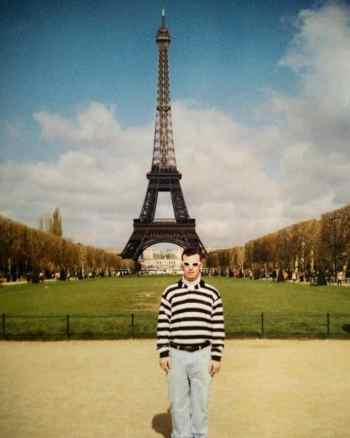 Alex in Paris, Eiffel Tower