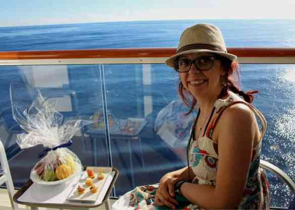 Balcony of the Norwegian Getaway