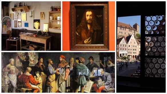 Collage of Albrecht Dürer Haus museum