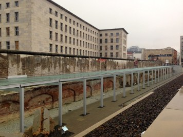Topographie des Terrors: where the Stasi headquarters was located.