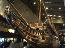 Vasa Museum: This ship was underwater for 333 years until it was discovered in the harbor and restored. The Vasa was built to be a strong warship against the Polish army, but sank after only 25 minutes into its maiden voyage due to poor design.