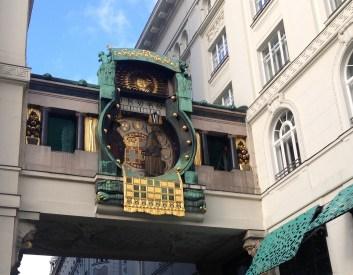 Hoher Markt Clock (Ankeruhr)