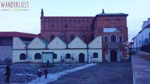 DSC03250e - Sinagoga Velha - Cracóvia